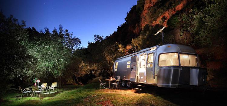 caravana en alquiler en airbnb