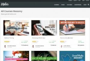 Tema premium para crear una academia online