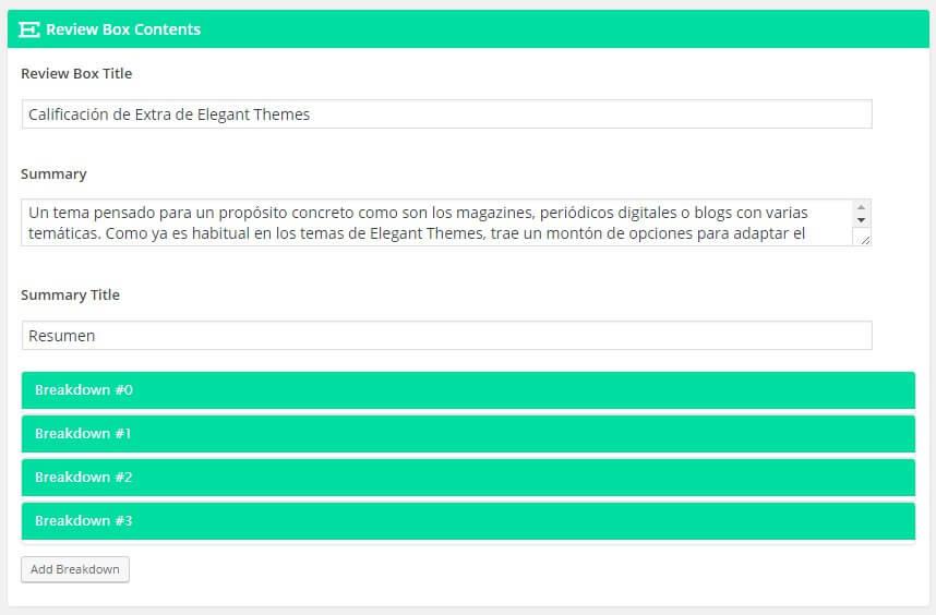tema de wordpress con sistema de calificacion de productos
