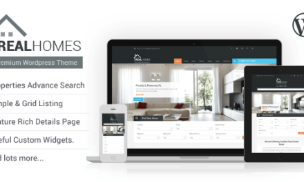 Real Homes, crea una web inmobiliaria con WordPress