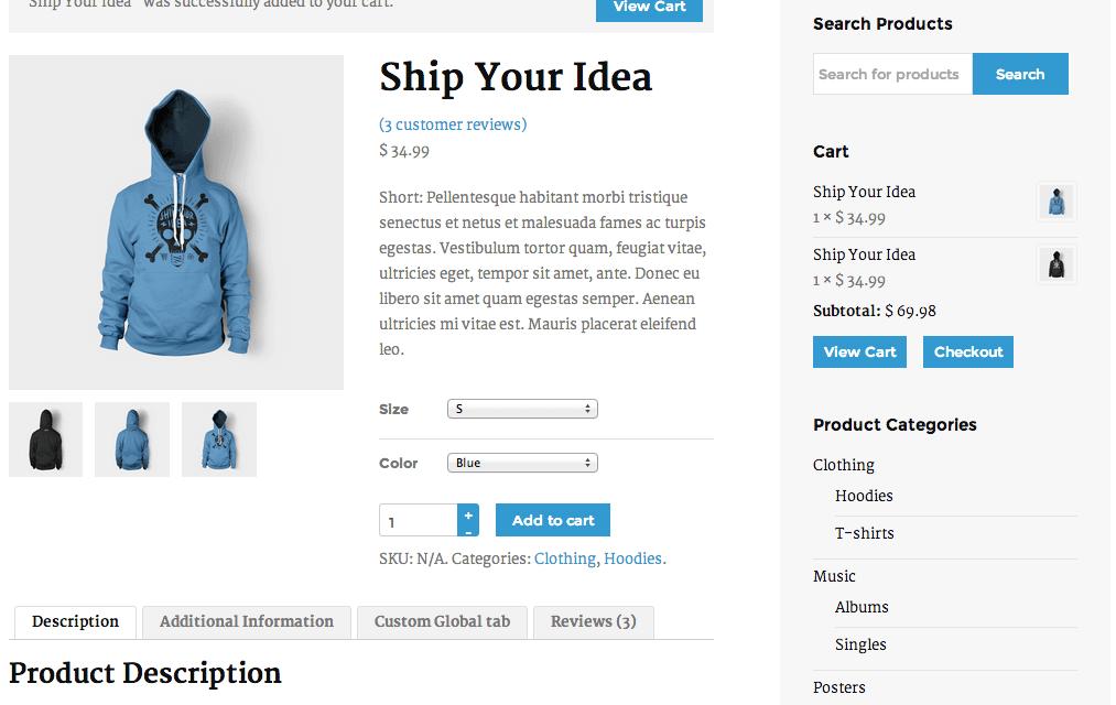 Modifica la página de producto de WooCommerce (2/2)