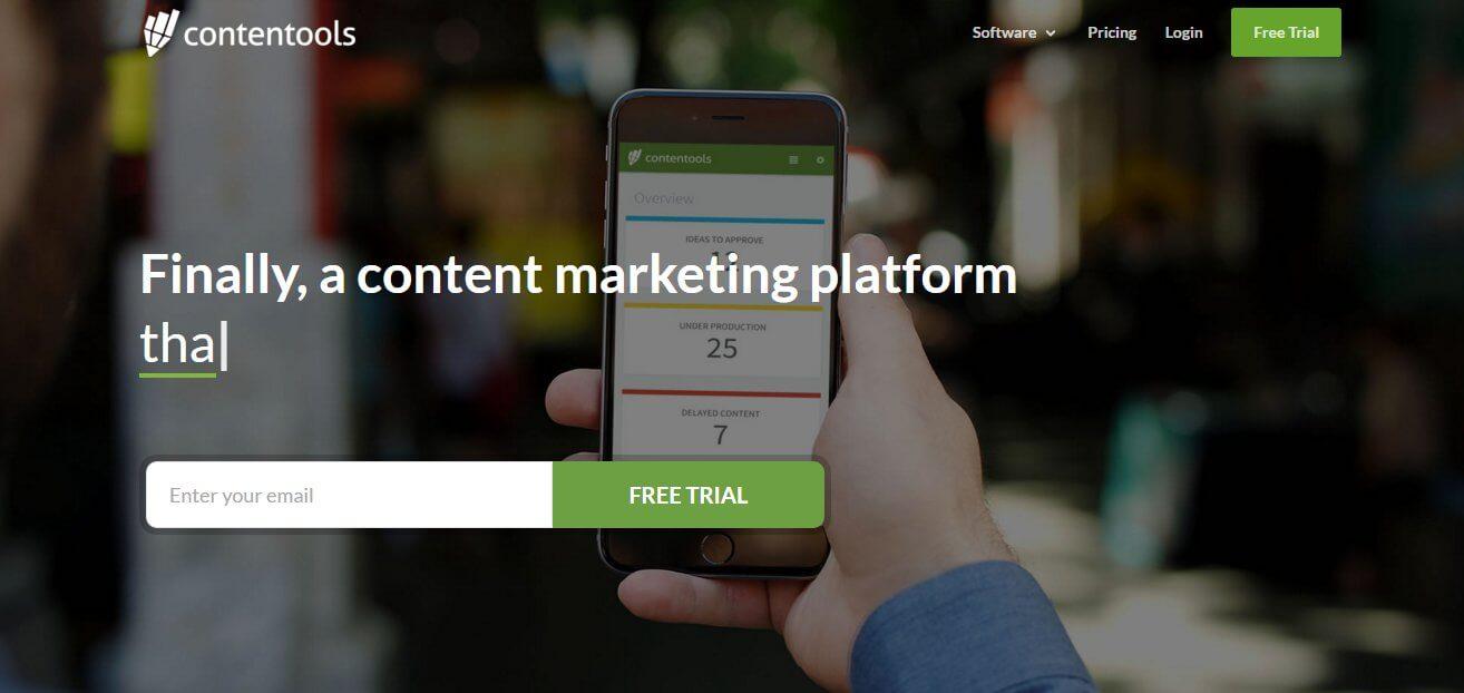 ejemplo de sitio web para presentar una aplicacion online con divi