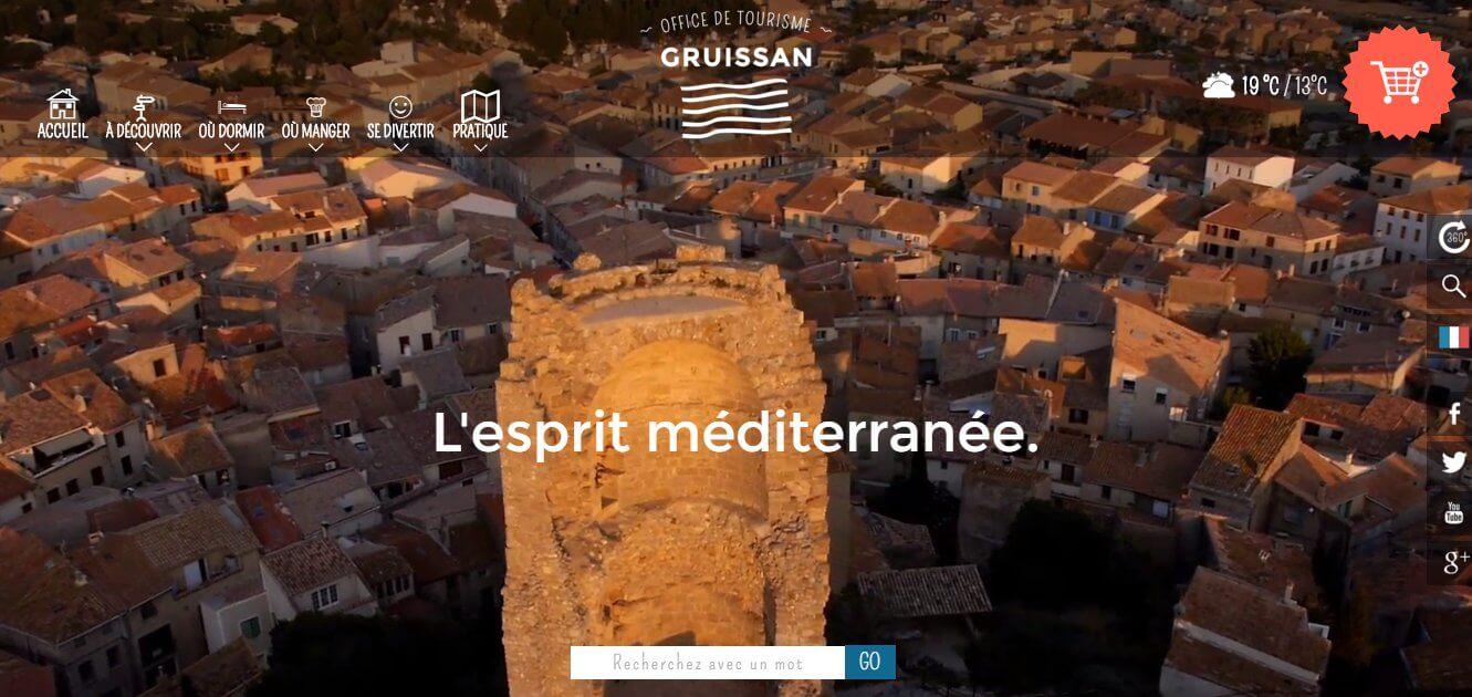 web de oficina de turismo