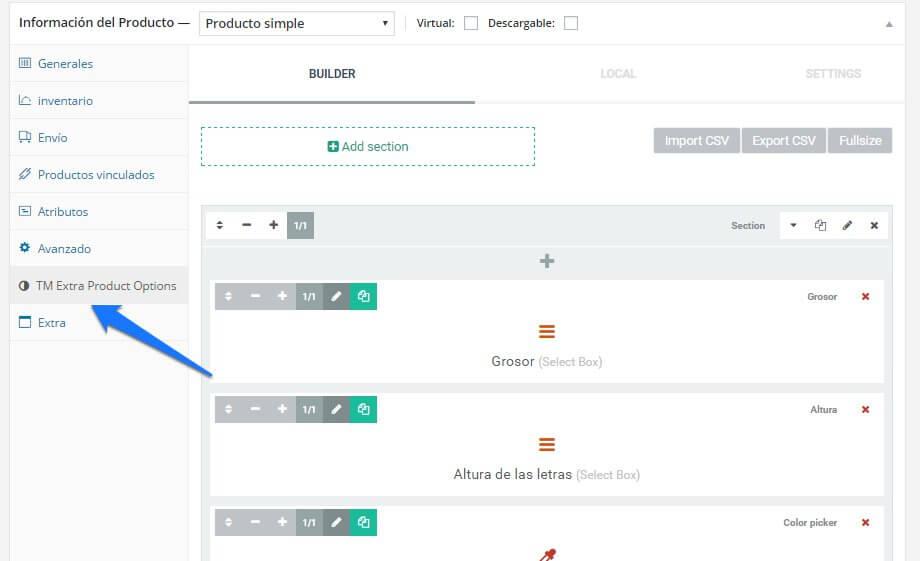 plugin para vender productos personalizados en woocommerce