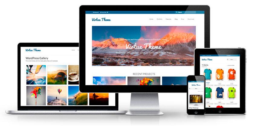 5 Temas gratis para Woocommerce - aupados.com