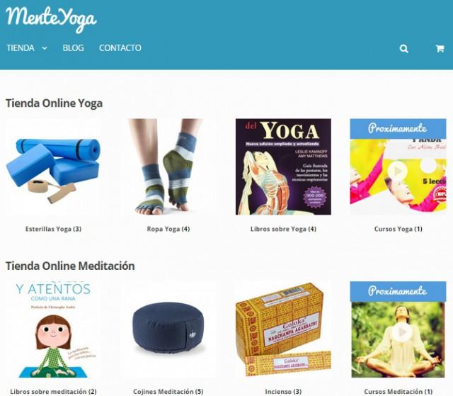 tienda online yoga