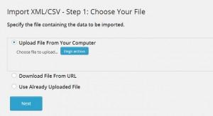 importar archivo css o xls para hacer dropshipping con WordPress