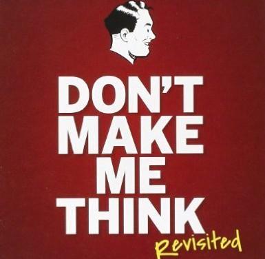 """Notas del libro sobre usabilidad """"No me hagas pensar"""""""