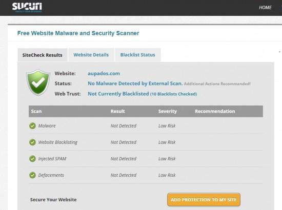 escaner externo de malware y amenazas