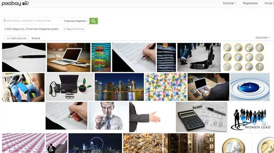 Gran cantidad de fotos gratis organizadas por categoria