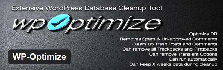 optimiza tu base de datos para facilitar la copia de seguridad