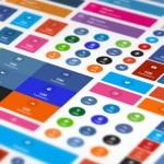 Varias opciones de visualización y aspecto de los botones