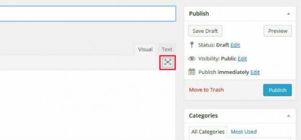 modo libre de distracciones para aumentar tu productividad en WordPress