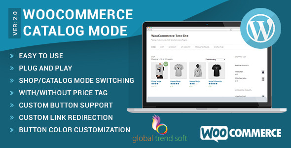 caracteristicas del plugin para utilizar woocommerce como catálogo