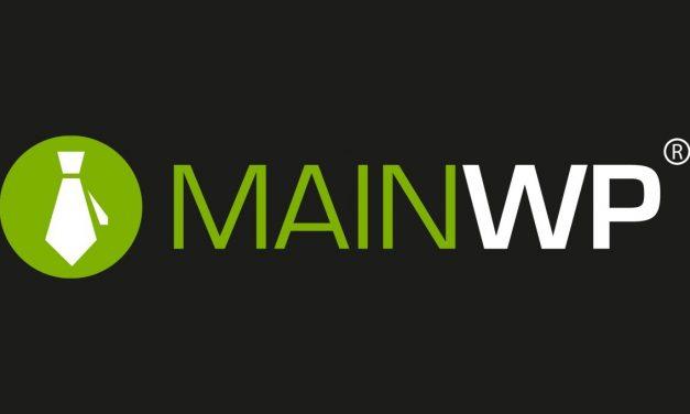 MainWP, Cómo administrar varios sitios WordPress