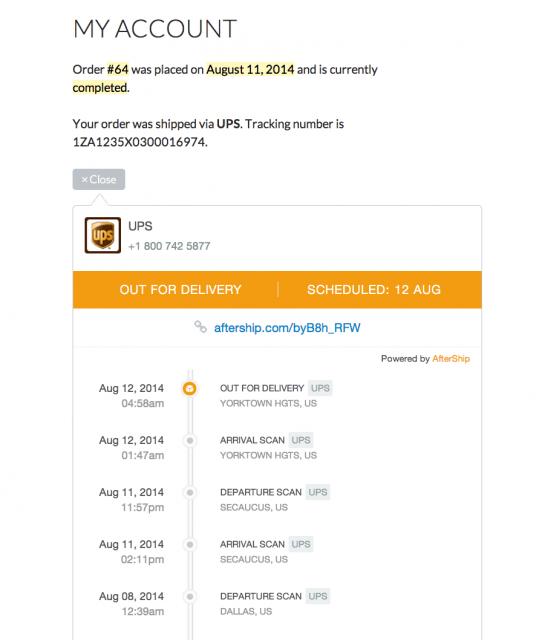 seguimiento de pedidos en WooCommerce