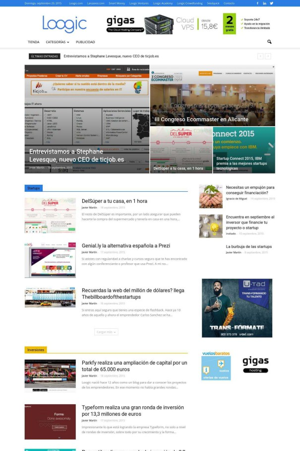 Newspaper: Plantilla de WordPress para Periodico Digital - aupados.com