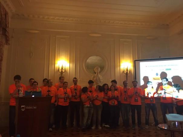 todo el equipo de la organizacion de la wordcamp cantabria 2015