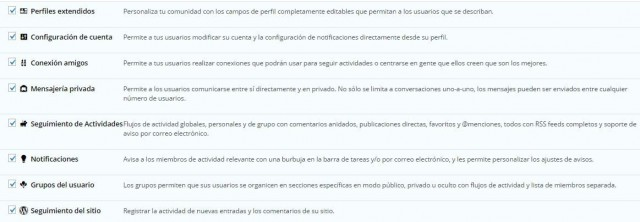 crear una intranet de empresa con wordpress y buddypress