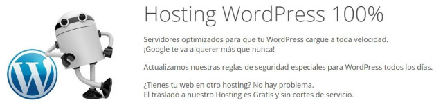 opinion hosting webempresa con soporte tecnico wordpress