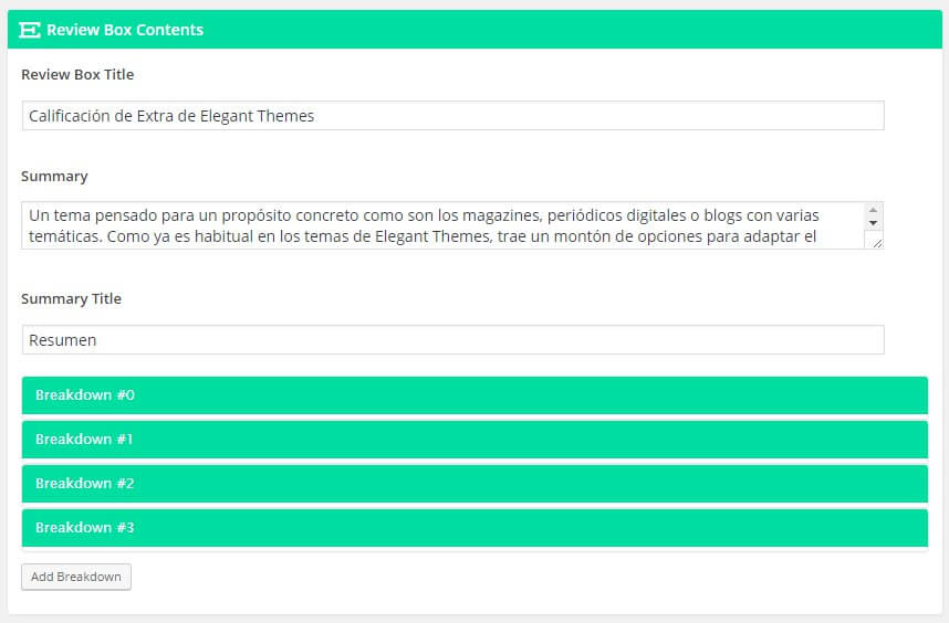 tema de wordpress con sistema de calificacion de productos
