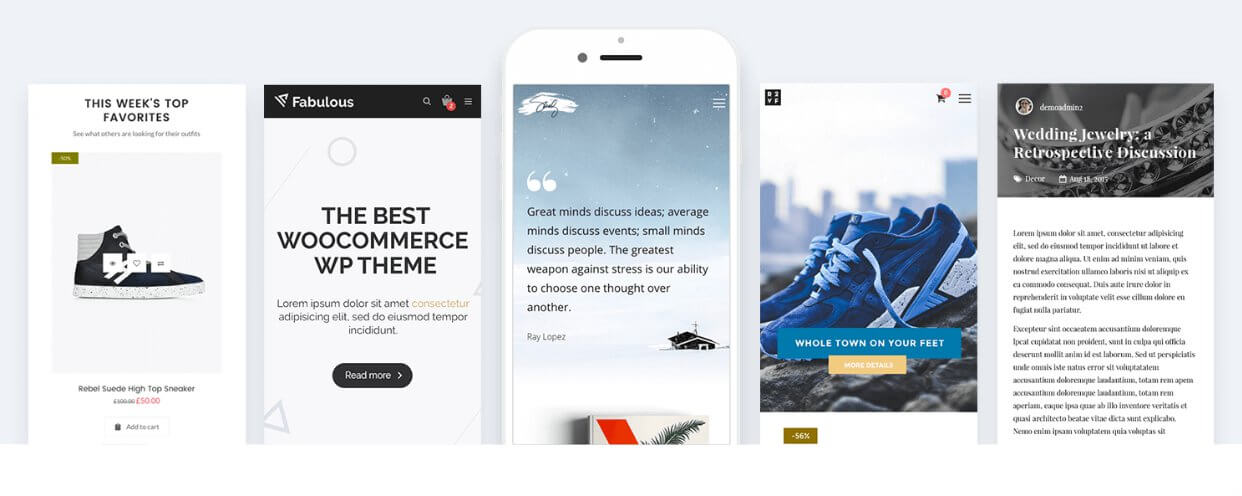 Nitro – Tema premium para WooCommerce
