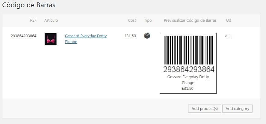 imprimir etiquetas con codigo de barras y precio